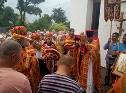Престольный праздник храма в честь святых Царственных Страстотерпцев