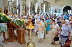 Праздник святых первоверховных апостолов Петра и Павла в соборе Архистратига Божия Михаила