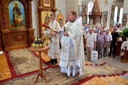 Праздник Преображения Господня в соборе Архистратига Божия Михаила