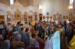 Чин погребения Божией Матери в Свято-Владимирском храме