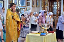 Праздник пророка Божия Ильи в соборе Архистратига Божия Михаила