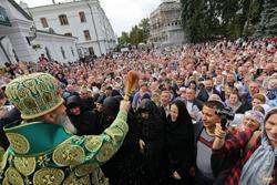Благочинный Михайловского округа принял участие в торжествах, посвященных 25-летию Святогорской Лавры