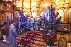 Собор Пресвятой Богородицы - второй день Рождества Христова в Свято-Михайловском соборе