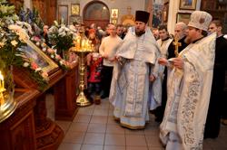 Праздник Рождества Христова в Свято-Михайловском соборе