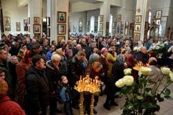 Вербное воскресение в соборе Архистратига Божия Михаила