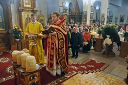 Христос Воскресе! Светлое Христово Воскресение в соборе Архистратига Божия Михаила