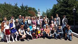 Воспитанники воскресной школы Свято-Михайловского собора посетили монастырь с. Никольское