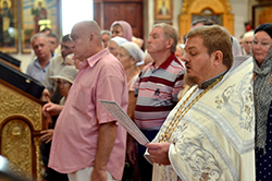 Праздник Преображения Господня в Свято-Михайловском соборе