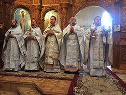 В Свято-Михайловском соборе отметили праздник чуда Архистратига Михаила в Хонех