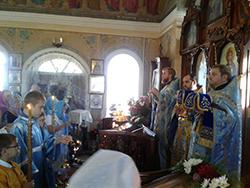 Престольный праздник храма Рождества Пресвятой Богородицы в п. Талаковка