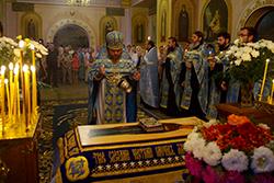 Чин погребения Божией Матери в Свято-Михайловском соборе